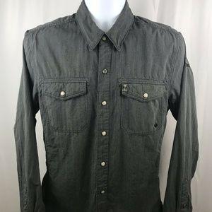 Harley Davidson Long Sleeve Pearl Snap Shirt